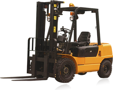 warehouse fork lift truck